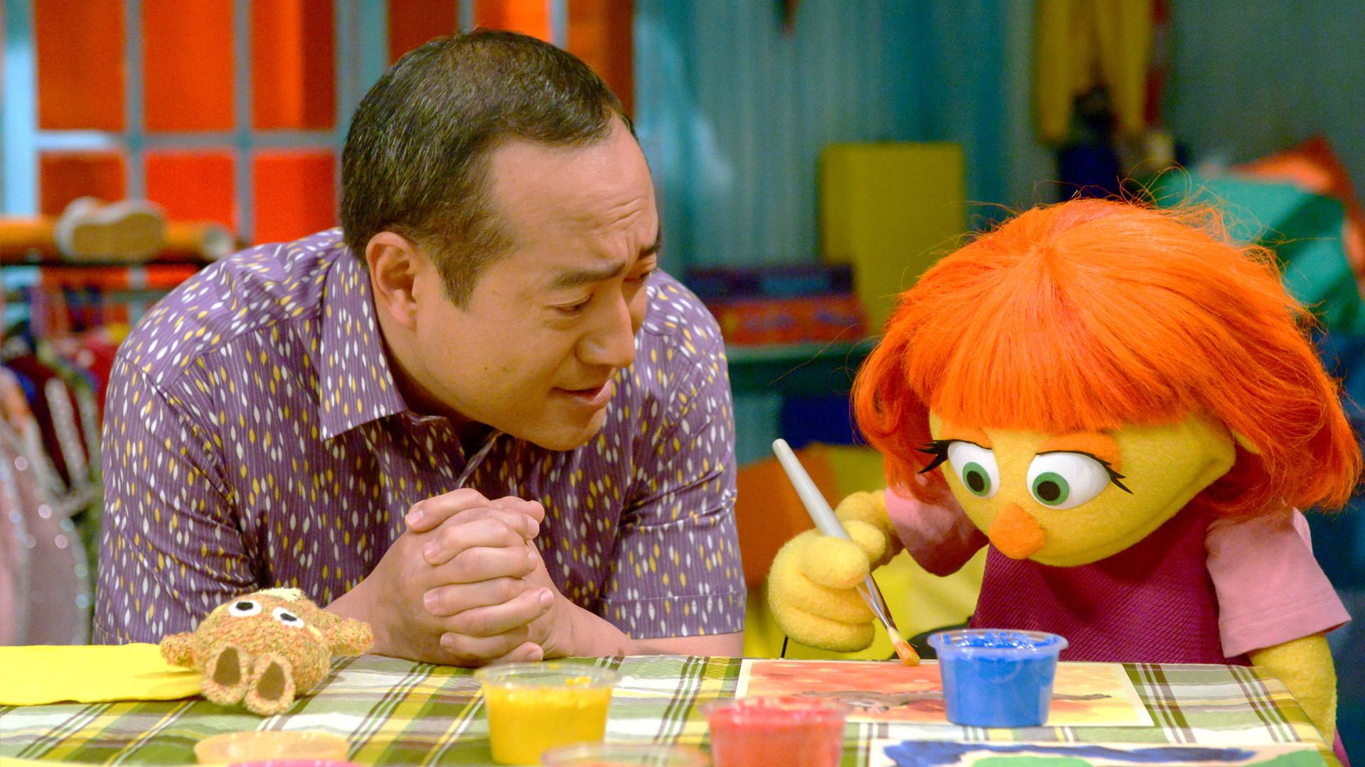 What Muppet With Autism Means To My >> Meet Julia Sesame Street And Autism